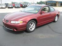 Options Included: N/A2000 Pontiac Grand Prix/ Coupe/