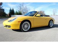 This beautiful 2000 Porsche 911 Carrera Cabriolet is