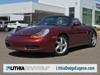 Boxster trim. $500 below Kelley Blue Book! Leather