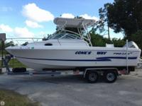 - Stock #74810 - This is a solid fishing boat that has
