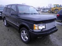 PARTING OUT CAR!! FOR MORE INFO ON THE 2000 RANGE ROVER