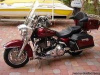 2000 Road King - 32K, new tires, Tour Pack (removable)