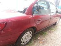 MOVING MUST SELL 2000 SATURN 4CYLINDER, 4DOOR, (RED) IN
