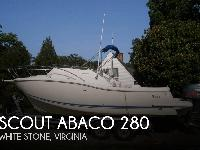 - Stock #081599 - The Scout 280 Abaco is about the