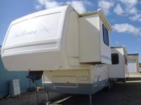 This 33' beauty is loaded with extras and can easily be