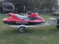 2000 SEA DOO GTX 130HP w/trailer 3,699.00 - 218 hours