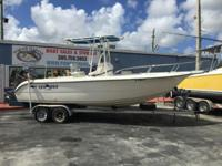 2000 Sea Era Legacy 230 Center Console W/ Trailer & 250