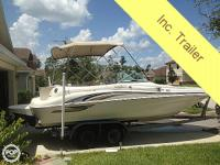 Sea Ray engineered the 210 Sundeck with enjoyable in