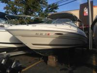 2001 Sea Ray 215 Weekender Cuddy Cabin Cruiser Boat -