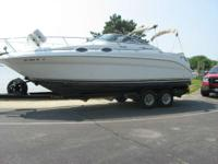 Call today for more details. the 260 Sundancer has a