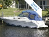 This is a 2000 Searay 270 with 310 HP 7.4 liter