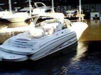 This beautifully maintained 2000 Sea Ray 280 Sun Sport