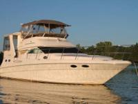 2000 Sea Ray 420 Aft Cabin Boat is located in Ten