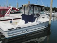 The Sea Sport walkaround is a great boat with plenty of