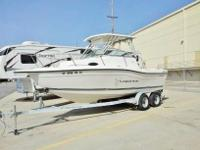2000 seaswirl striper 2100 walk around cuddy cab with