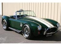 2000 Shelby Cobra 427, CSX4000 series roadster. 1966