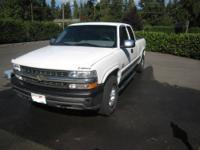 I am selling my 2000 Silverado Centurion edition. 144