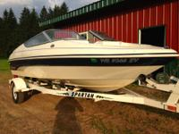 Selling my like new 2000 Larson Silverline with a