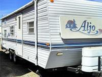 Aljo 261LT Bunkhouse Model. Sleeps 8. Queen Bed & &