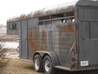 2000 Rusty Wheel Four equine trailer, custom built in