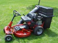 "Snapper riding lawn mower 5 speed w/ reverse, 28"" cut,"