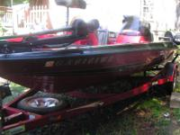 2000 Stratos 283 Vindicator Bass Boat w/150 HP Johnson