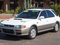 Options:  2000 Subaru Impreza 4D Wagon|Aspen
