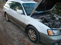 I am parting out a 2000 Subaru Legacy Outback, 173k