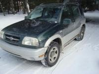 2000 Suzuki Grand Vitara 164,500 miles, New tires, New