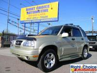 Options Included: N/AThis super clean Suzuki SUV is