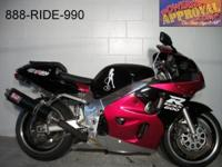 2000 Suzuki GSXR600 crotch rocket for sale only $2999!