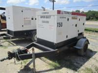 2000 Terex T50 50KW Generator Generators Heavy-Duty...