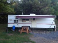 2000 Terry 27 ft camper with bunks, new tires, awning,