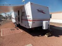 2000 Terry travel trailer 31ft. Bumper tow, air,