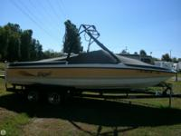 Great deals of speed and wake make this Tige perfect