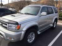 From work to weekends, this Gold 2000 Toyota 4Runner