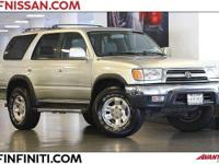 Options:  2000 Toyota 4Runner Sr5 4D Sport