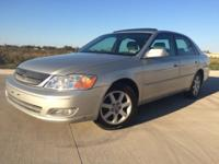 2000 Toyota Avalon ... Silver with grey leather