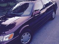I'm selling my Camry. This car has been garaged its