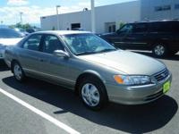 New In Stock. This Champagne 2000 Toyota Camry is