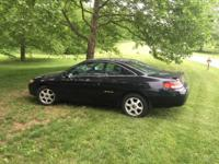 I'm selling my toyota solara coupe black ,it is v6