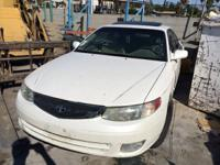 2000 Toyota Camry Solara Engine, Transmission and
