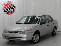 One owner accident free Carfax. Fuel Efficient! Super