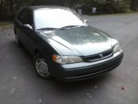 I Have A 2000 Toyota Corolla For Sale. Drive Home