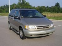 Options Included: N/AThis 2000 TOYOTA SIENNA includes