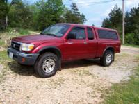 2000 Toyota Tacoma 4 x 4 extended cab TRD package.