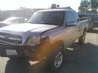 2000 Toyota tundra parting out.   Interchange: 65147C