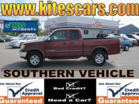 Options Included: N/A2000 Toyota Tundra SR5 Ext Cab 4x4