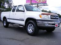 Options Included: N/A00 Tundra Access Cab 4WD,4