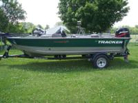 This is a 2000 Tracker Pro Deep V16.Comes with a 50HP